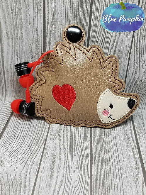 Hedgehog Earbud Holder