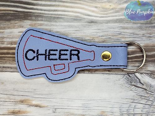 Cheer Megaphone Key Fob