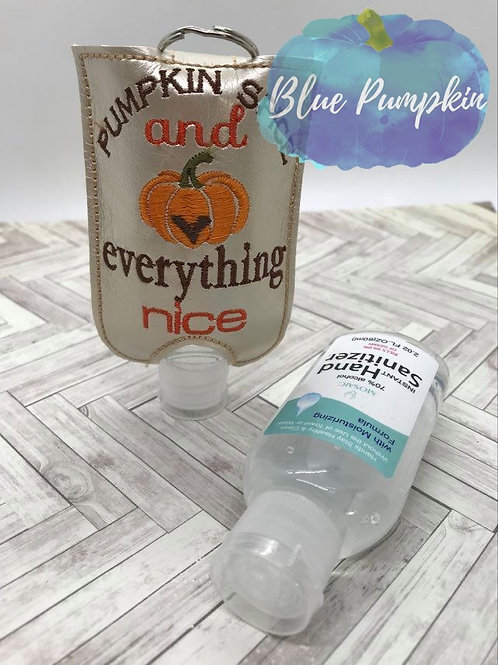 Pumpkin Spice Nice 2oz Sanitizer Holder