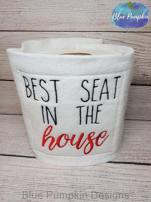Best Seat Toilet Paper Wrap Design