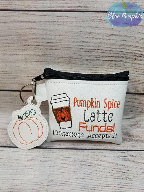 4x4 Pumpkin Latte ITH Bag Design