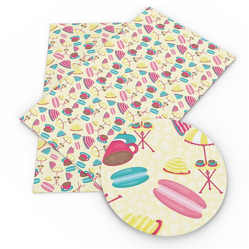 Macaroons and Sunshine Embroidery Vinyl
