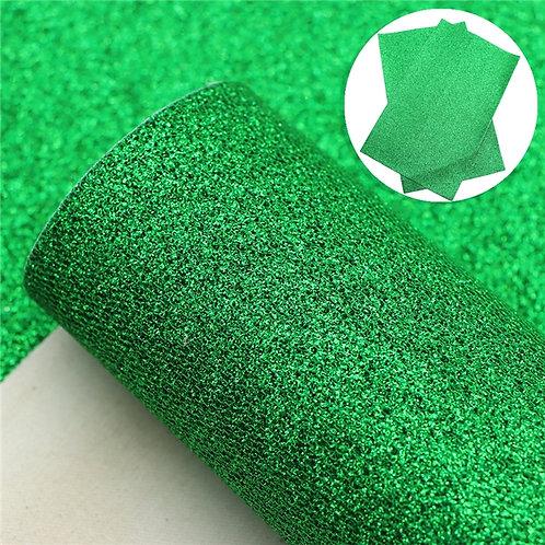 Green Glitter Honeycomb  Embroidery Vinyl