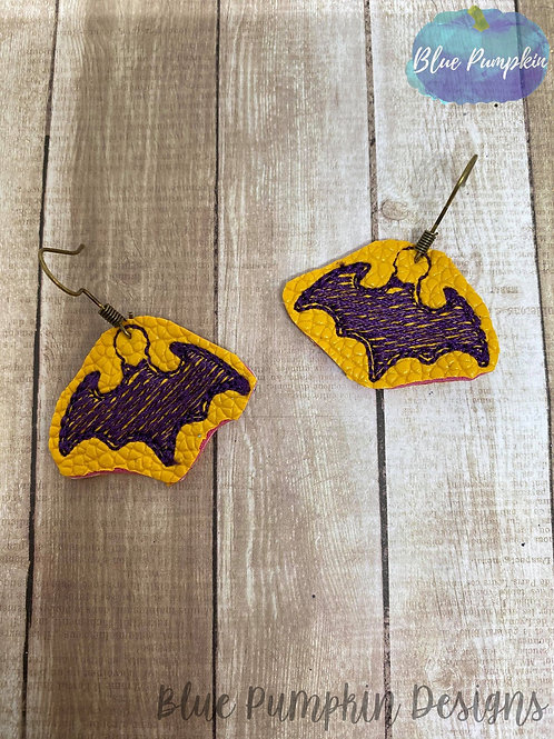 Bat Girl Earrings