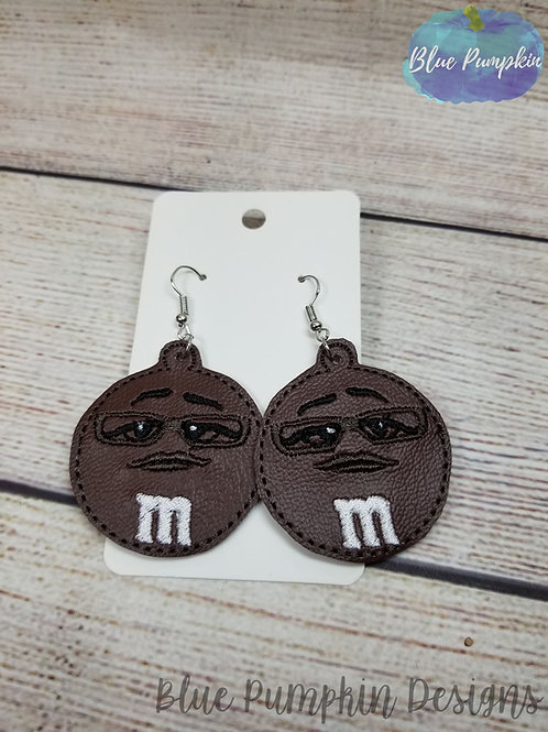 Brown Candy Earrings