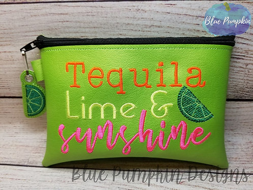 Tequila Lime Sunshine ITH Bag Design