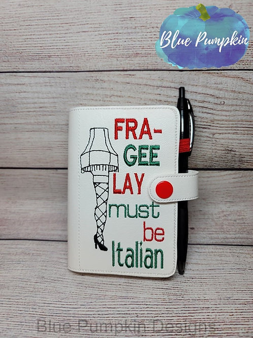 5x7 FrageeLAY Mini Comp ITH Notebook Cover