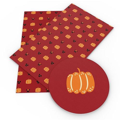 Mouse Pumpkin Embroidery Vinyl