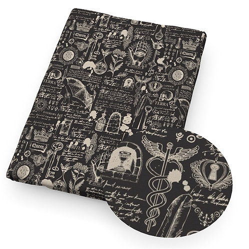Sketch Medical Creepy Embroidery Vinyl