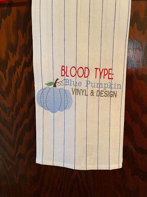 BPV Blood Type Single Design