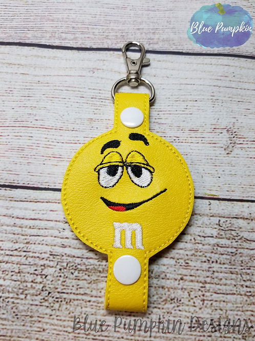 Yellow Candy Water Bottle Holder