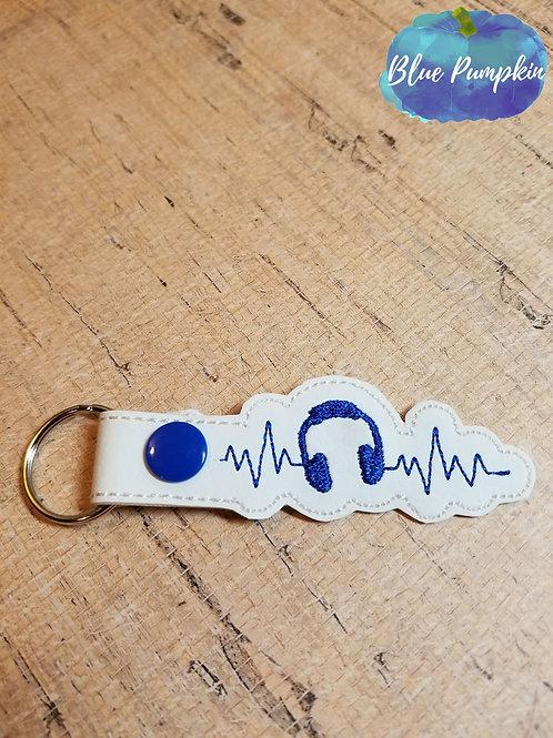 DJ Heartbeat Key Fob