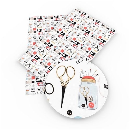 Sewing Theme Embroidery Vinyl