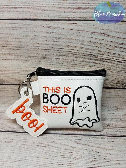 Boo Sheet 4x4 ITH Bag Design