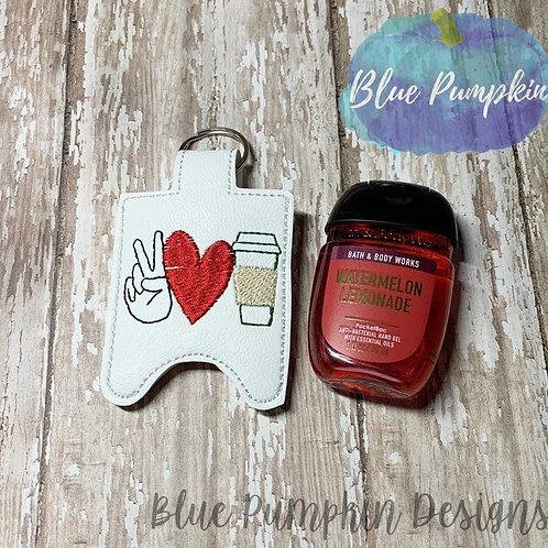 1oz Peace Love Coffee Sani Bottle Holder