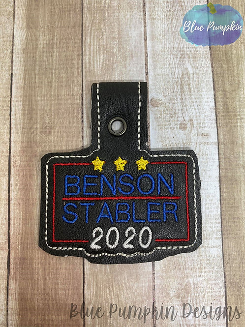 Benson Stabler 2020 Key Fob