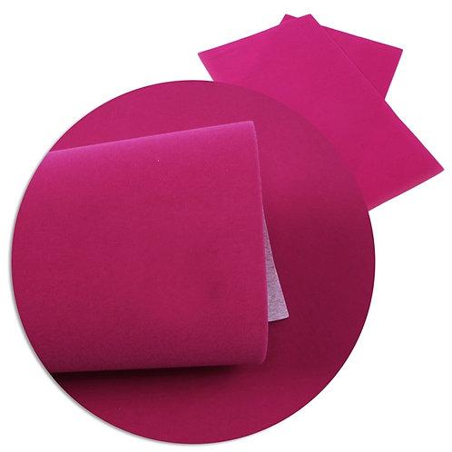 Hot Pink Velvet Embroidery Vinyl