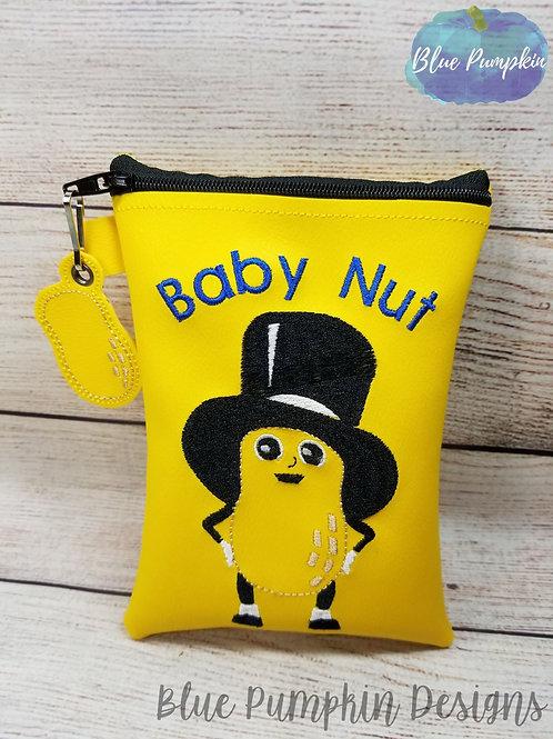 Baby Nut ITH Zipper Bag Design