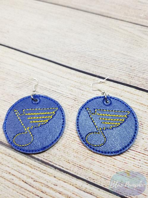 SL Blues Earrings