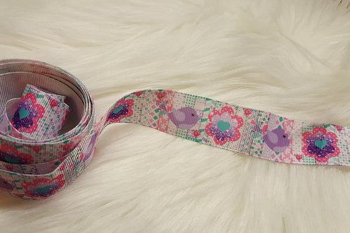 Purple Bird Ribbon