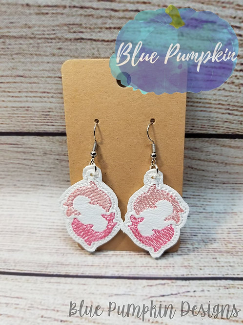 Twin Dolphins Earrings