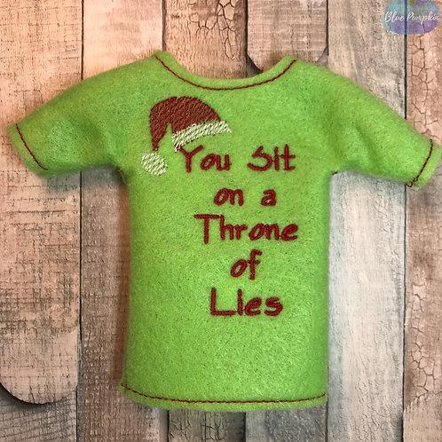Throne of Lies Elf Shirt