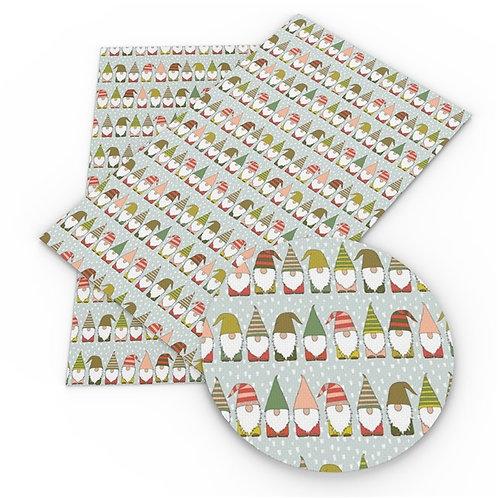 Christmas Gnomes Embroidery Vinyl