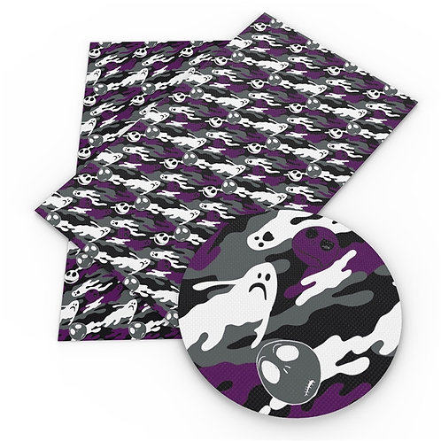 Camo Ghosts with Jack Printed Embroidery Vinyl