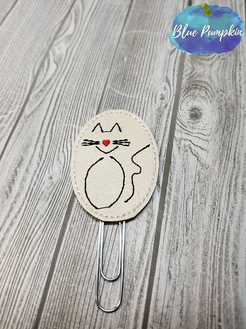 Abstract Cats Paper Clip Toppers