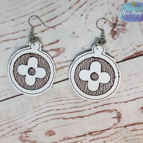 Designer Flowers Earrings