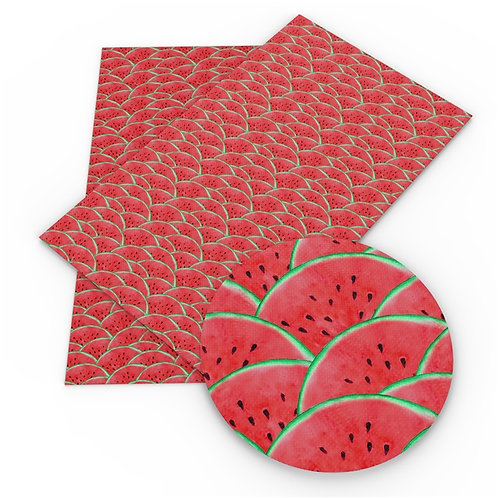 Stacked Watermelon Embroidery Vinyl