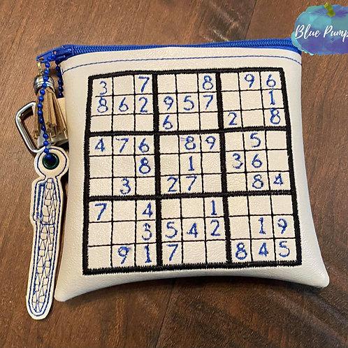 Sudoku Set Zipper Bag Design