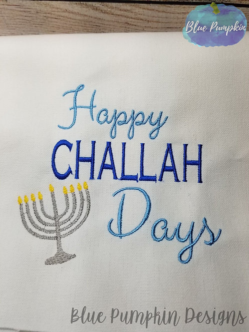 Happy Challah days Design