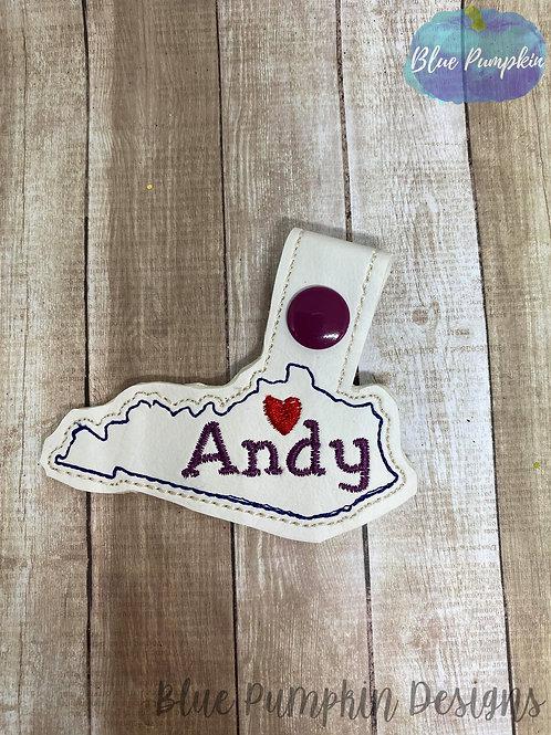 Kentucky Andy Key Fob