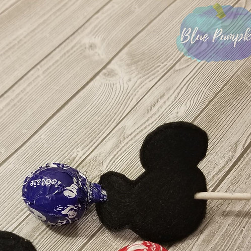 Boy Mouse Lollipop Vday Holder