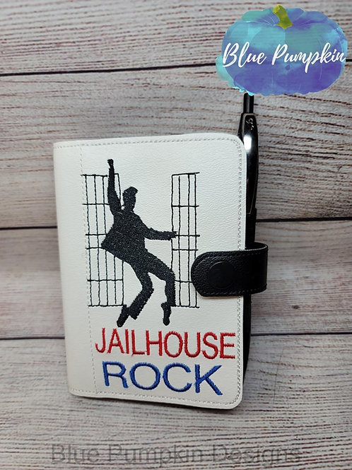 5x7 Jailhouse Rock Mini Comp ITH Notebook Cover