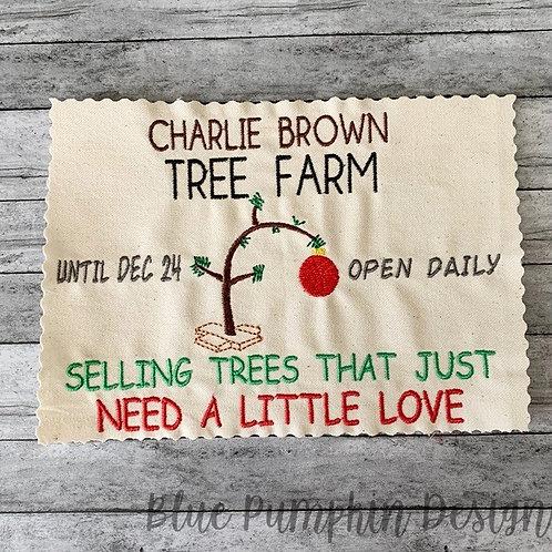 CBrown Tree Farm Single Design