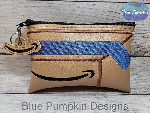 5x7 /6x10 Shopping Box ITH Bag Design