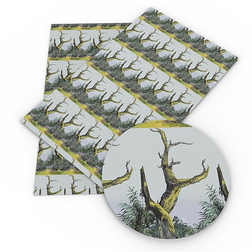 Desolate Trees Embroidery  Vinyl