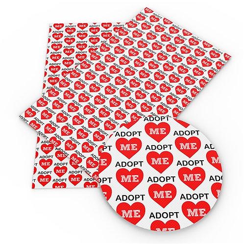 Adopt Me Printed Embroidery Vinyl