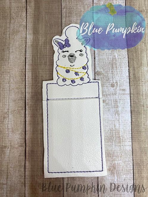 Cutie Llama Chap Stick Holder
