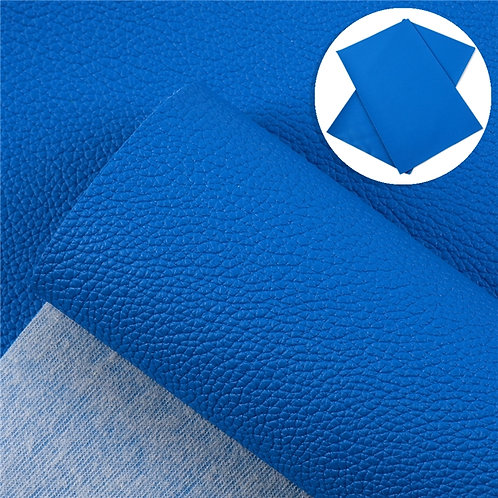 Litchi Blue Embroidery Vinyl