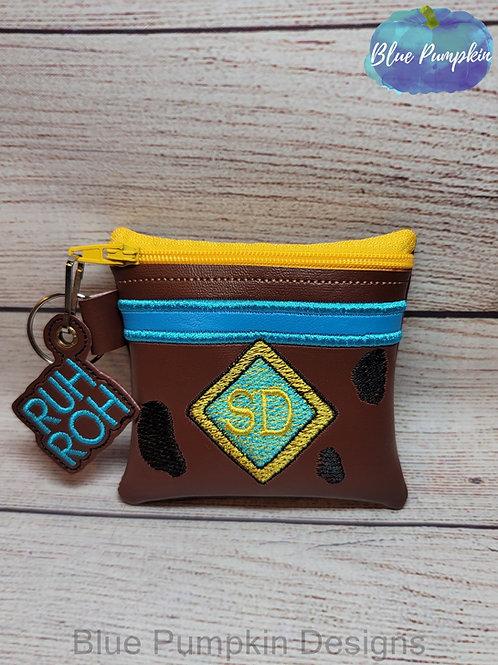4x4 Scoobert Zipper Bag Design