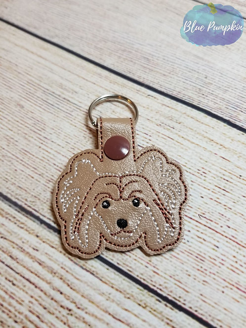 Chinese Crested Key Fob