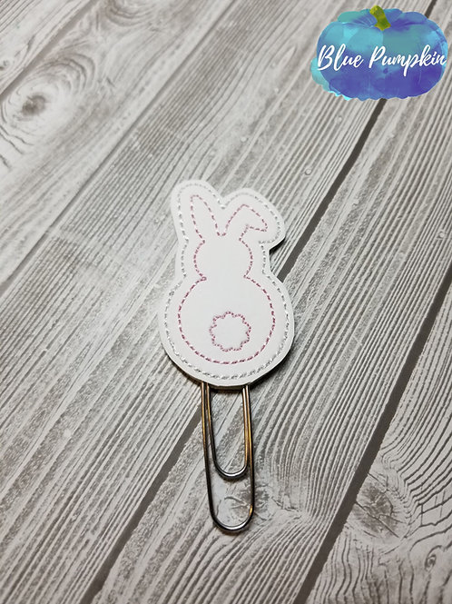 Simple Cute Bunny Paper Clip Toppers