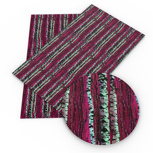 Colorful Birch  Embroidery Vinyl
