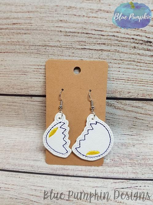 Cracked Egg Earrings