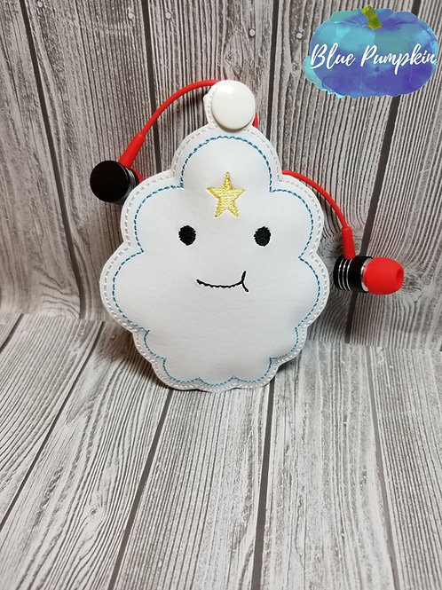 Princess CLoud Earbud Holder
