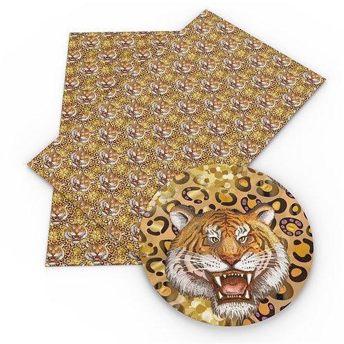 Lion Embroidery Vinyl