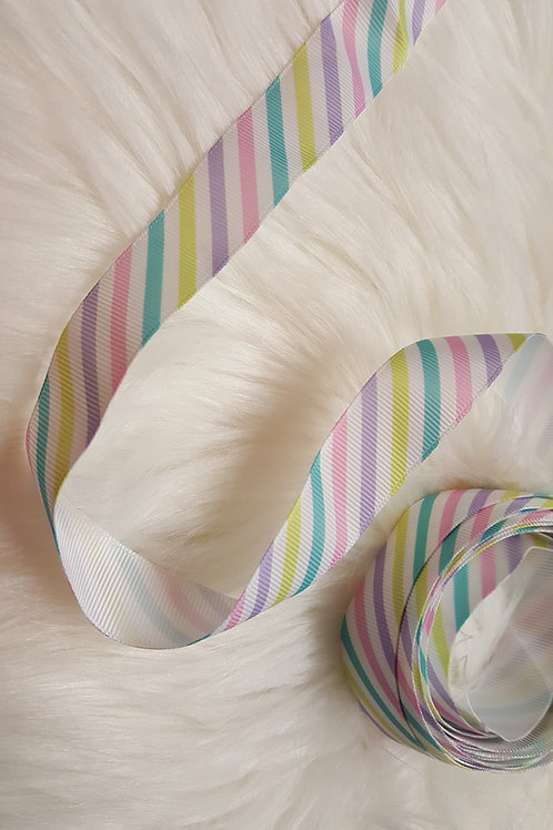 Pastel Stripes Ribbon